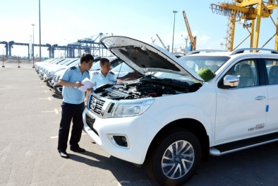 602 ô tô con vừa nhập khẩu về Việt Nam, giá trung bình 603 triệu đồng/chiếc