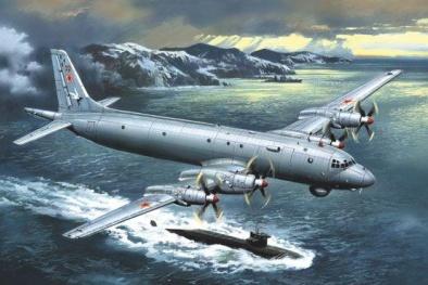 Máy bay săn ngầm của Nga khiến mọi mục tiêu khó thoát