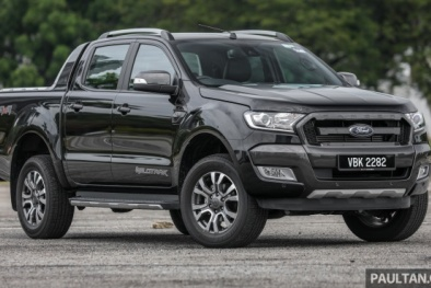 Bán tải Ford Ranger mới 'siêu hoang dã', 'đẹp long lanh' vừa trình làng, giá 729 triệu đồng