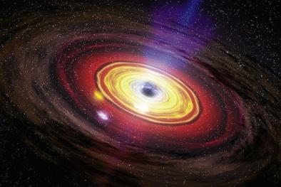 Số phận bi thảm của Trái đất và Mặt trời khi lỗ đen khổng lồ tiến đến gần