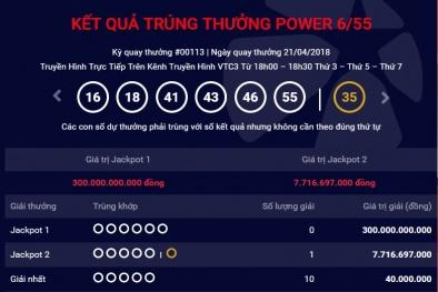Xổ số Vietlott: Vừa có người trúng giải thưởng Jackpot 2 gần 8 tỷ đồng ngày hôm qua