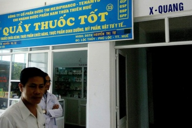 Bán thuốc hết hạn,  quầy thuốc của Medipharco – Tenamyd bị đình chỉ