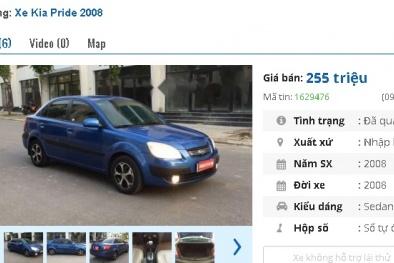 Những chiếc ô tô Kia cũ số tự động này đang rao bán tầm giá 200 triệu tại Việt Nam