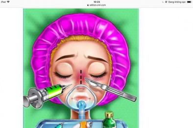 Phụ huynh lên tiếng yêu cầu cấm các ứng dụng phẫu thuật thẩm mỹ