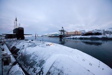 Tàu ngầm Nga mang dàn tên lửa khủng có sức hủy diệt đáng sợ