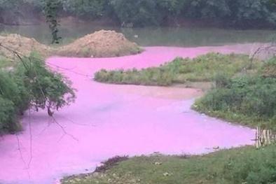 Lạng Sơn: Phát hiện nguồn nước có hóa chất lạ
