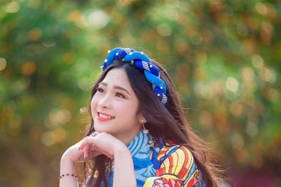 'Hot girl tráng bánh mướt' xứ Nghệ vừa xinh đẹp, lại đảm đang