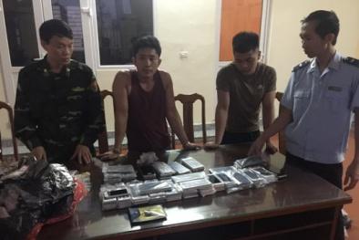 Quảng Ninh: Bắt giữ lô điện thoại thông minh nhập lậu