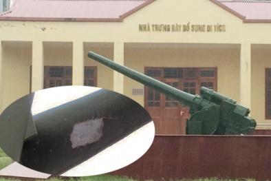 Nghi vấn về chất lượng khẩu pháo đồng tại di tích pháo đài Xuân Tảo