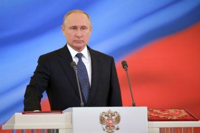 Toàn cảnh lễ tuyên thệ nhậm chức trang trọng trước 5.000 người của Tổng thống Nga Vladimir Putin