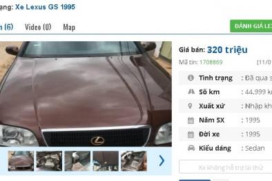 Những chiếc ô tô Lexus cũ này đang rao bán tầm giá 300 triệu tại Việt Nam