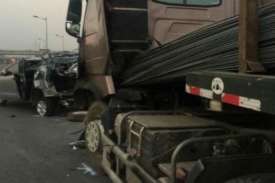 18 năm tù cho 2 tài xế trong vụ lùi xe trên cao tốc khiến 4 người thiệt mạng