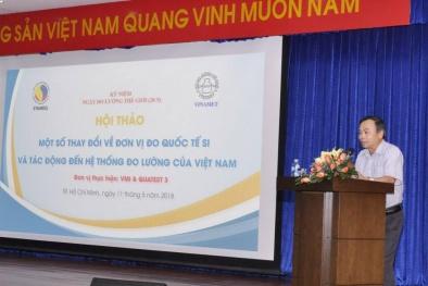 Đo lường Việt Nam trước sự thay đổi về đơn vị đo lường quốc tế SI