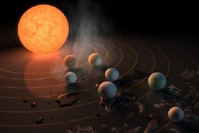 Bí ẩn 7 hành tinh giống Trái Đất có thể tồn tại sự sống