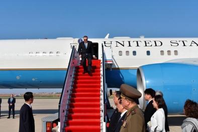 Chuyến đi bí mật của Ngoại trưởng Mỹ tới Triều Tiên qua lời kể phóng viên