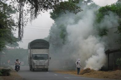 Hà Nội: 9/10 ngày ô nhiễm không khí vượt tiêu chuẩn WHO