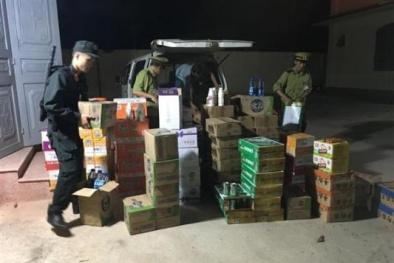 Lạng Sơn: Thu giữ lô hàng thực phẩm nhập lậu từ Trung Quốc