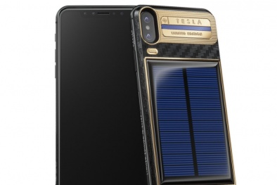 Xuất hiện chiếc iPhone X giá hơn 92 triệu đồng được trang bị pin mặt trời