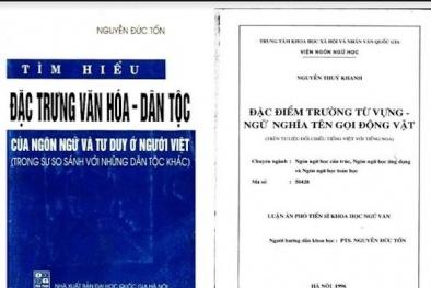 Hội đồng Chức danh Giáo sư Nhà nước đề nghị kiểm tra vụ tố đạo văn