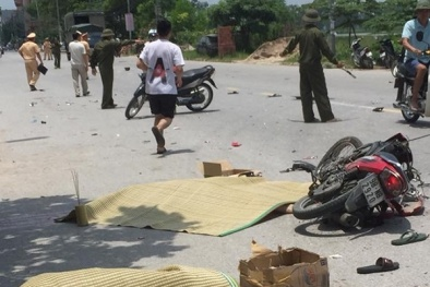 Tai nạn giao thông ngày 20/5: 'Đối đầu' xe tải, 2 thanh niên tử vong tại chỗ
