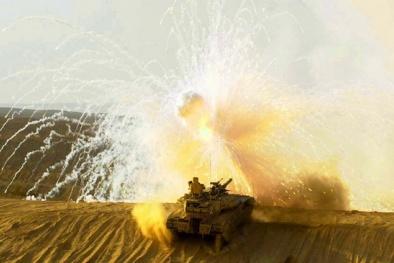 'Kẻ hủy diệt' của Israel nếu tham chiến tại Syria sẽ trở thành vũ khí kinh hoàng