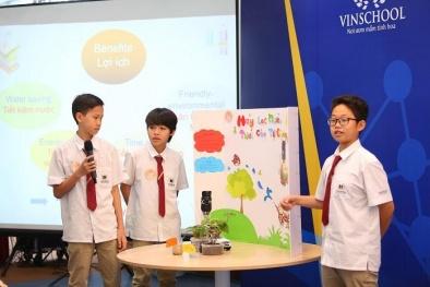 'Mãn nhãn' với không gian sáng chế Innovation Center của học sinh Vinschool