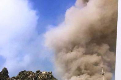 Nguyên nhân vụ nổ lớn như bom, khói bốc cao trăm mét tại nhà máy xi măng ở Hà Nam