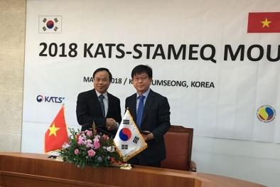 Mở rộng hợp tác với Hàn Quốc trong lĩnh vực đánh giá sự phù hợp
