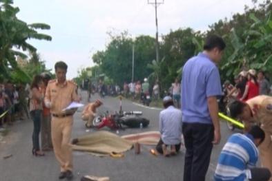 Tai nạn giao thông ngày 27/5: Va chạm xe máy, 2 vợ chồng tử vong thương tâm