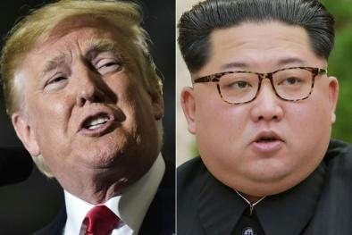 'Trùm' tình báo Triều Tiên tức tốc tới Mỹ, Tổng thống Donald Trump có hành động lạ
