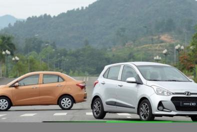 Lỗi hệ thống phanh, Huyndai triệu hồi hàng loạt xe Grand i10 tại thị trường Việt