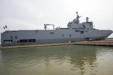 Khám phá tàu sân bay trực thăng Pháp neo đậu tại Bà Rịa - Vũng Tàu