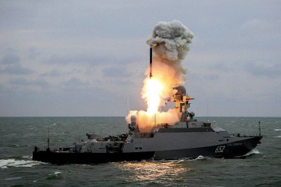 Tiếp tục ứng cứu Syria, Nga quyết 'đối đầu' với mọi đối thủ bằng tên lửa 'thần chết'