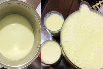 Sợ độc hại, nhiều người tự làm sữa ngô tại nhà
