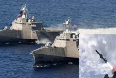 Vũ khí 'đống rác trên biển' của Mỹ được 'hóa kiếp thành rồng lửa' nhờ tên lửa bất bại