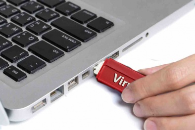 Cảnh báo virus nguy hiểm xóa dữ liệu USB, 1,2 triệu máy tính bị nhiễm