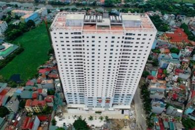 """Chung cư Tabudec Plaza: Bị """"tuýt còi"""" do mất an toàn PCCC"""