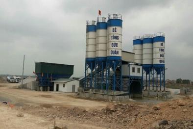 Bắc Giang: Vì đâu Công ty bê tông Đức Quân vẫn lì lợm, kinh doanh trái phép?