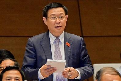 Thuốc ung thư giả bằng bột than tre: Phó Thủ tướng Vương Đình Huệ nói gì trước Quốc hội?