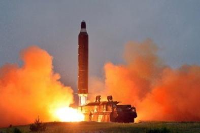 Lộ hình ảnh đầu tiên về bệ phóng tên lửa hạt nhân Triều Tiên vừa phá huỷ