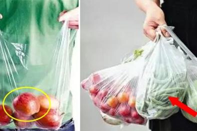 Nguy hại từ thói quen sử dụng túi nilon, đồ nhựa