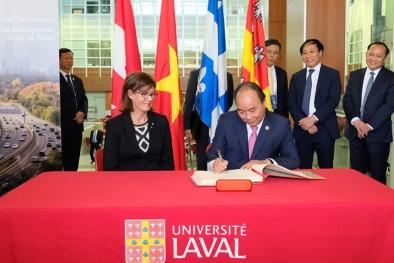 Thủ tướng Nguyễn Xuân Phúc thăm trường đại học lâu đời nhất ở Canada