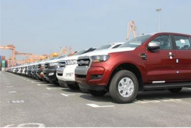 Trong tuần, ô tô nhập từ Thái Lan chiếm số lượng áp đảo