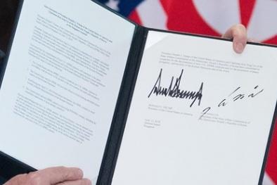 Chi tiết nội dung thỏa thuận 'chấn động' giữa Donald Trump và  Kim Jong-un