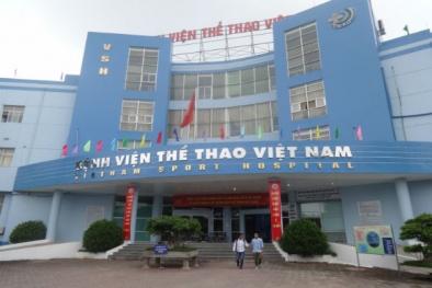 Giám đốc Bệnh viện Thể thao Việt Nam 'bỗng dưng' bị uy hiếp