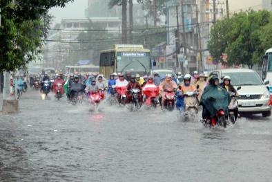 Áp thấp nhiệt đới di chuyển cấp độ cực mạnh tiếp tục gây mưa rào và dông