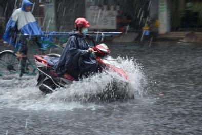 Cảnh báo lũ quét tại các vùng núi Bắc Bộ, có nơi xuất hiện mưa đá