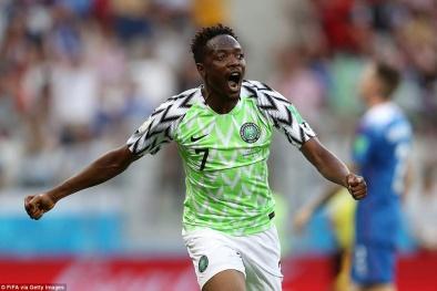 Kết quả bóng đá World Cup 2018 Nigeria vs Iceland: Đại bàng xanh tung cánh
