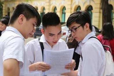 Đáp án đề thi môn Toán tốt nghiệp THPT quốc gia mã đề 103, 104, 105