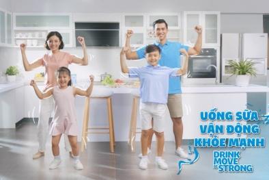 Lan tỏa thông điệp 'Uống sữa. Vận động. Khỏe mạnh' qua điệu nhảy flash mob